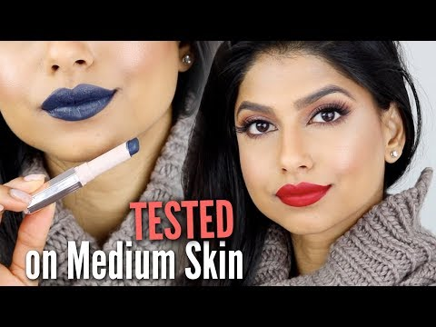 Fenty Beauty MATTEMOISELLE Lipstick Swatches on Medium Skin!