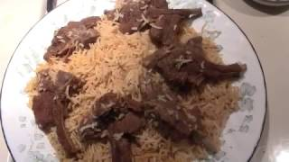How To Make Champ Pulao (Chops with Basmati Rice) - Pakistani/Indian Cooking with Atiya