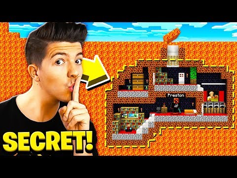 Xxx Mp4 I FOUND PRESTONPLAYZ SECRET UNDERGROUND MINECRAFT BASE 3gp Sex