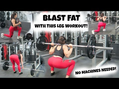 BLAST FAT With This Leg Workout | NO Machines Needed