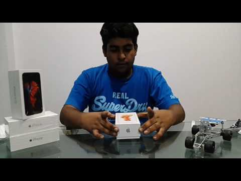 iPhone 6s Rosegold 16gb Unboxing from India