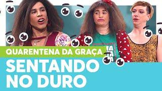 Graça DEU O SOFÁ PARA CARIDADE   Quarentena Tô de Graça   Humor Multishow
