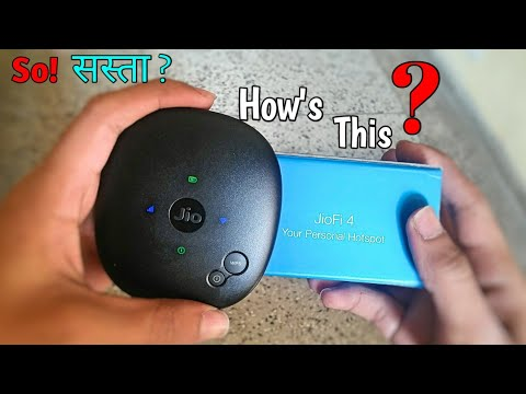 Jiofi4 Full Review with Unboxing, Worth Of mony, should buy Jio Fi 4? My openion, 😎