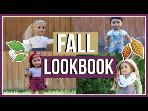 FALL LOOKBOOK! | American Girl Doll Fall Outfit Ideas 2016