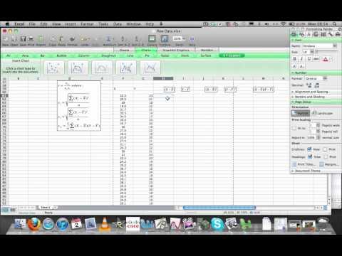 Correlation Coefficient with Excel.mov