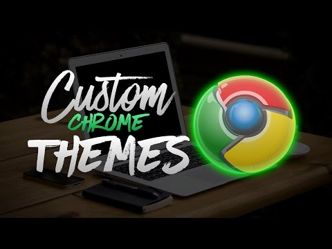 How to customize google chrome Themes 2016