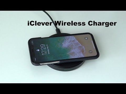 iClever IC-WL04 Fast Wireless Charger Unboxing & Testing
