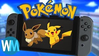 Top 10 Things We Want To See In Pokemon For Nintendo Switch