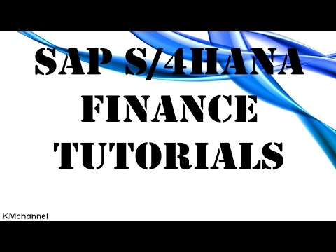 Implementing SAP S/4HANA Finance Tutorial #1
