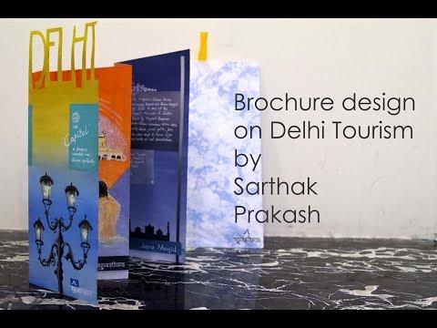 Handmade brochure design  by Sarthak Prakash
