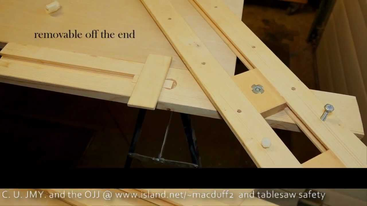How to complement the big edge guide.wmv with the Mastercraft rear plunge universal circular saw