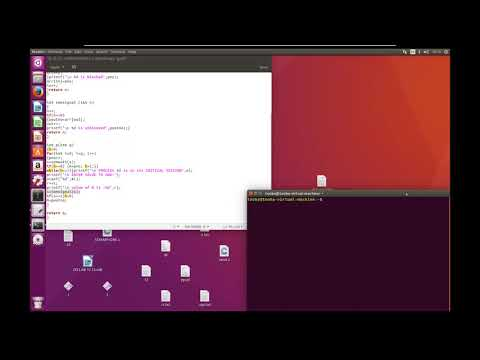 semaphore source code in C on linux