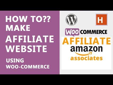 how to make an affiliate website using woo-commerce | wordpress tutorials in hindi Ep#32