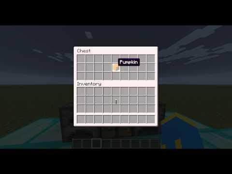 Minecraft Jak zrobić Jack o'Lantern / Minecraft How to make Jack o'Lantern