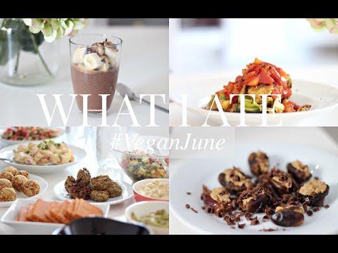 What I Ate #VeganJune 13 (Vegan/Plant-based) | JessBeautician