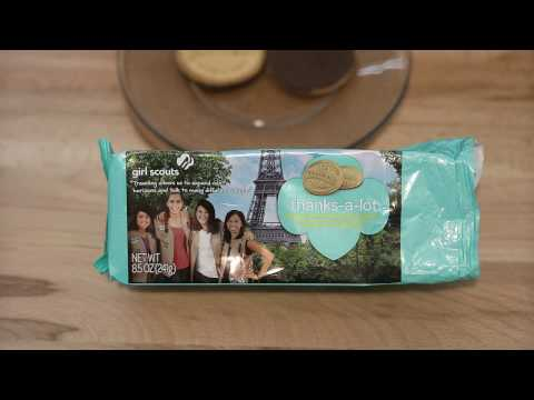 Food Review: Thanks A Lot Cookie - Girl's Scout Cookie
