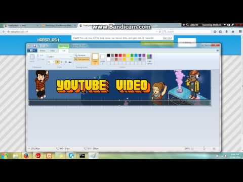 How to make a habbo retro banner free! (2014)