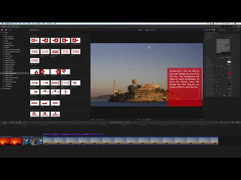 TitleMations 3.0 Tutorial: Title Panels