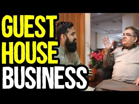 How to Start Hotel Guest House Business in Pakistan & India | Azad Chaiwala Show