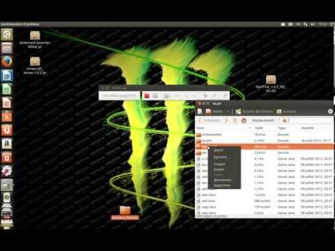 launcher minecraft 1.6.2 crack linux et comment mettre un mod