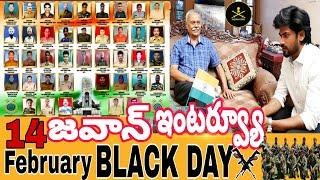 Blackday || Army Jawan interview || 14 February pulwama attack || Indian army sadstatus || Ravivarma