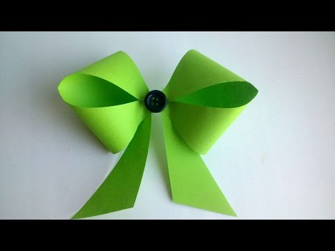 How To Make A Pretty Paper Bow - DIY Crafts Tutorial - Guidecentral