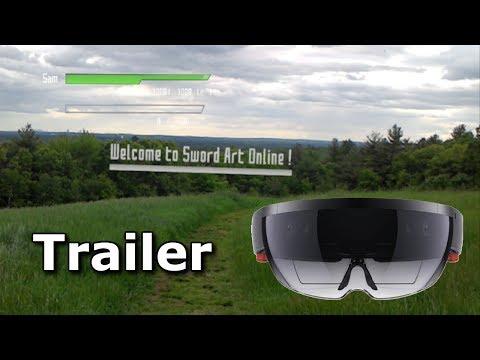 Sword Art Online ALPHA AR Fan Inspired Game Trailer