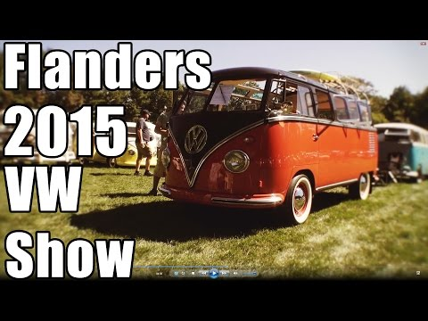 Classic VW BuGs Flanders 2015 All Air-Cooled Gathering Vintage Beetle Car Show