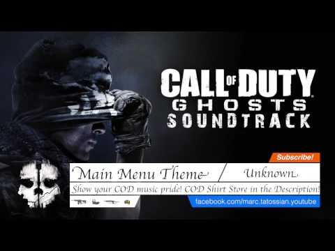 Call of Duty Ghosts Soundtrack: Main Menu Theme