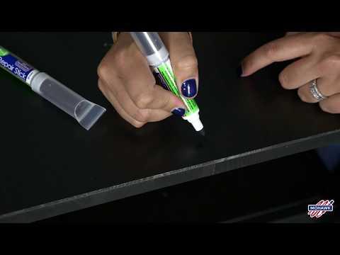 Mohawk 3 In 1 Repair Stick - How to repair Black Brown IKEA® Furniture