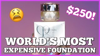 $250?! TESTING THE WORLD'S MOST EXPENSIVE FOUNDATION!