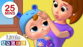 Baby Got Sick   Sick Song +More Kids Songs & Nursery Rhymes by Little Angel