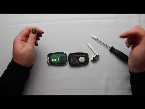 How To Replace A 2016 - 2017 Chevrolet Camaro Key Fob Battery Part # HYQ4EA