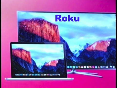 How to Screen Mirror Macbook to Roku...!!!