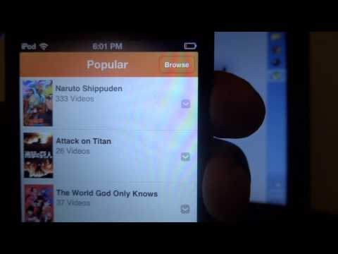 How To Watch Anime on Iphone, Ipod or Online For Free
