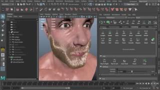 Starting an XGen Beard in Maya - PakVim net HD Vdieos Portal
