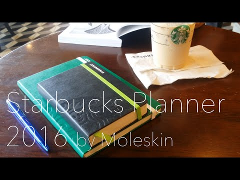 Starbucks Planner 2016: Unboxing/Unwrapping & Quick look!