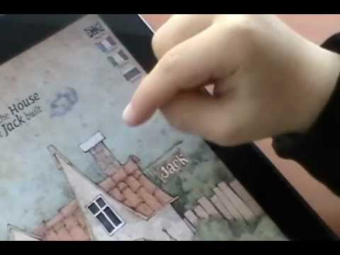 HOUSE THAT JACK BUILT multilingual interactive book for iPad