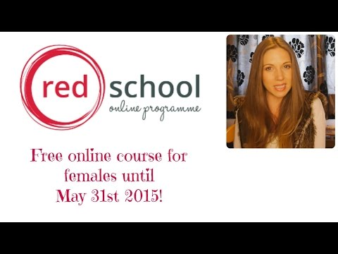Red School FREE online course for females. link below