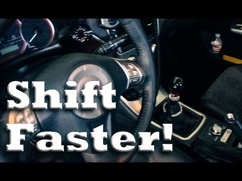 Tips for Quicker Shifting | Advanced Manual Techniques