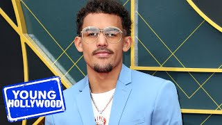 Trae Young Plays Pass, Trash, or Dunk at NBA Awards
