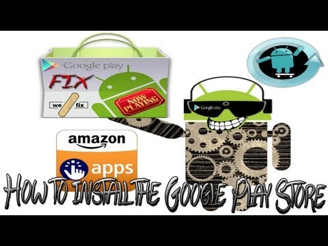 How to Install the Google Play Store on any Android Device,The Play Store Fix! V8.5.39