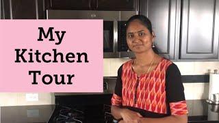 Kitchen Tour Part 2   Kitchen Organisation Tips   Indian\ Tamil