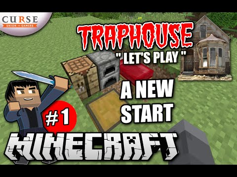 Minecraft PS4 - A NEW START #1 - Survival Let's Play - Traphouse - Season 3 ( PS3 / XBOX ) WII