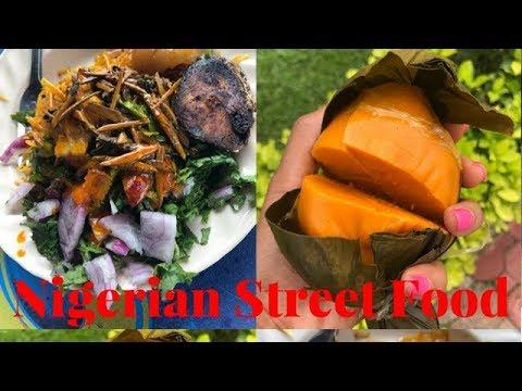 Nigerian (Enugu) Street Food Tour    Abacha & Okpa