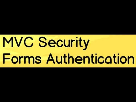 MVC Training :- How to implement forms authentication in MVC (Model View Controller) applications ?