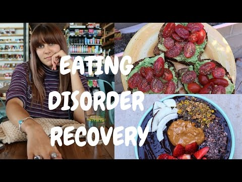 FEAR FOODS. WHAT I EAT IN A DAY ED RECOVERY // VEGAN