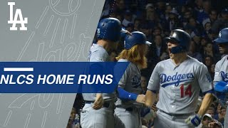 See all the Dodgers homers in the 2017 NLCS