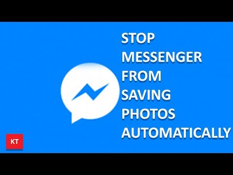 How to stop messenger from saving photos automatically to your phone