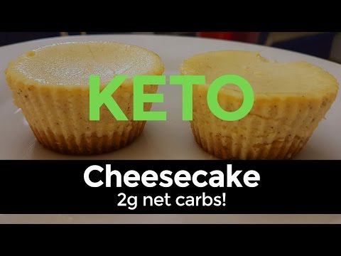 Keto Cheesecake - guilt-free dessert on a Ketogenic Diet